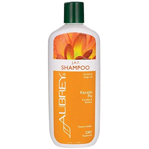 J.A.Y. Fortifies & Revitalizing Shampoo Aubrey Organics 11 oz Liquid -