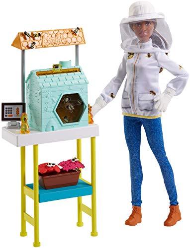 Barbie Beekeeper Playset, Brunette]()