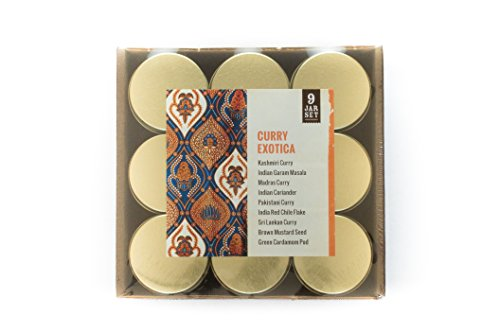 World Spice Merchants Gift Set - Curry Exotica
