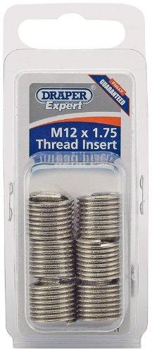 Draper Expert M12 x 1.75 Metric Thread Insert Refill Pack (6) - 21711