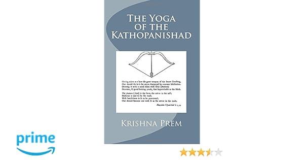 The Yoga of the Kathopanishad