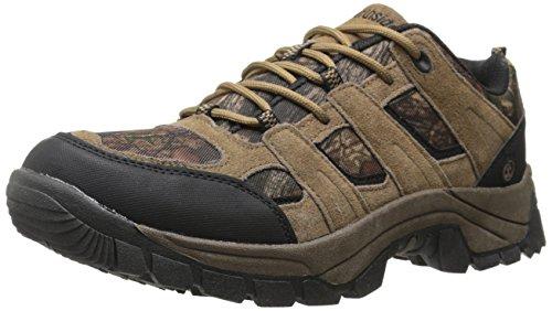 Northside Men's Bismarck Low Trail Hiking Shoe, Brown Camo, 11.5 M US