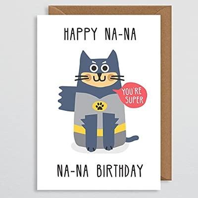 Tarjeta de cumpleaños divertida para gato - Tarjeta de ...