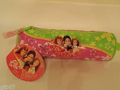 Fulla Pink Pencil Round Case Bag Pouch Muslim Arab Kids Eid Gift