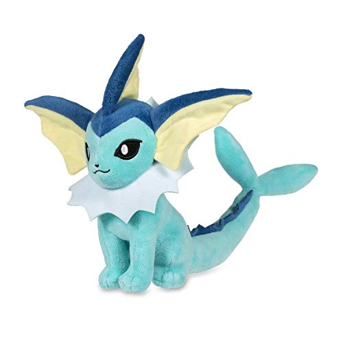 - Pokemon Center Original (7.8-Inch) Poke Plush Doll Sitting Vaporeon (Showers)