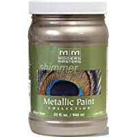 Modern Masters ME221-32 Metallic Warm Silver, 32-Ounce by Modern Masters
