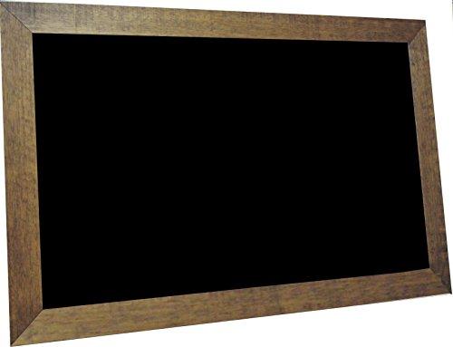 billyBoards 30x48 chalkboard. Vintage walnut frame finish...