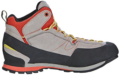 La Sportiva Boulder X Mid GreyRed, Chaussures de Randonnée