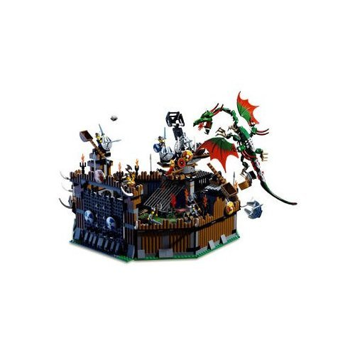 Lego Stories and Action Vikings: Viking Fortress Against the Fafnir Dragon (7019)