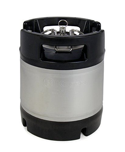 Kegco 1.75 Gallon Ball Lock Keg - Rubber Handle