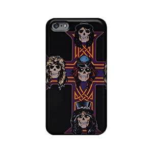 AlissaDubois Iphone 6plus Scratch Resistant Hard Phone Cases Support Personal Customs Attractive Guns N Roses Image [uqY5165IbhR]