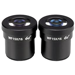 AmScope EP15X30E Pair of Extreme Widefield 15X Eyepieces (30mm)