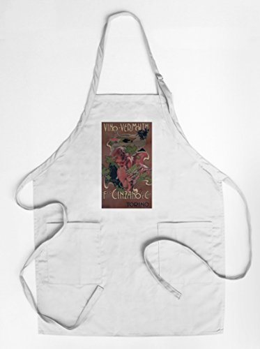 vino-vermouth-cinzano-vintage-poster-artist-hohenstein-italy-quality-cotton-polyester-chefs-apron