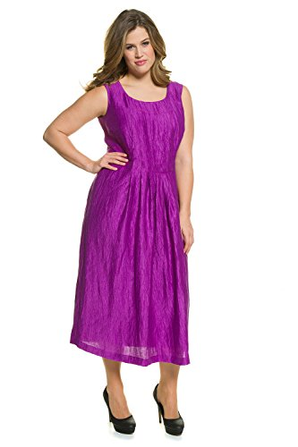 Crinkle Linen Dress - 7