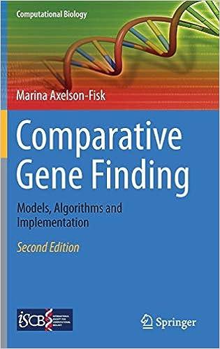 Algorithms and Implementation Comparative Gene Finding Models