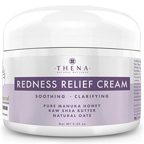 Redness Relief Face Cream Rosacea Skin Care with Colloidal Oatmeal Best Natural Rosacea Treatment for Eczema Face Anti Itch Dry Sensitive Skin Organic Facial Moisturizer Treatment Lotion Products