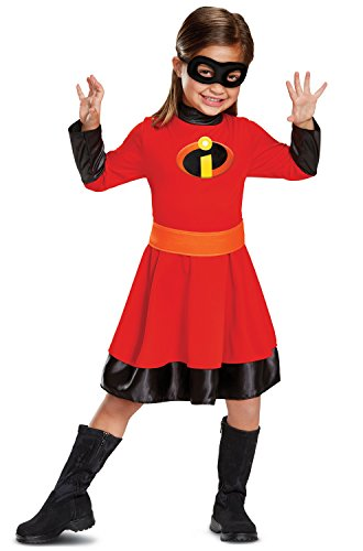 Disguise Violet Classic Toddler Child Costume, Red, -