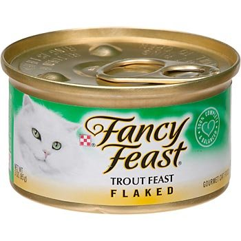 Fancy Feast Flaked Trout Feast Gourmet Cat Food (Fancy Feast Trout Flaked)