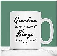 Grandma Gifts Bingo, Mother's Day Bingo Gift for Nana, Grandma is My Name Bingo is My Game, Bingo Gifts fo