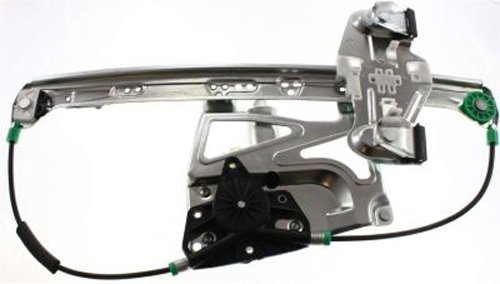 CPP Front Passenger Side Power Window Regulator w/ Motor for 00-05 Cadillac DeVille ()
