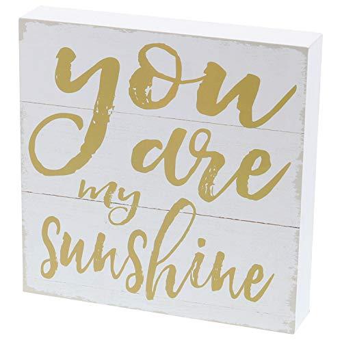 Barnyard Designs You are My Sunshine Box Sign