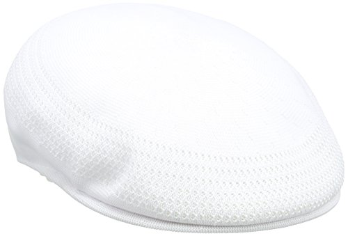 Kangol  Men's Tropic Ventair 504 Cap , White,X,Large -