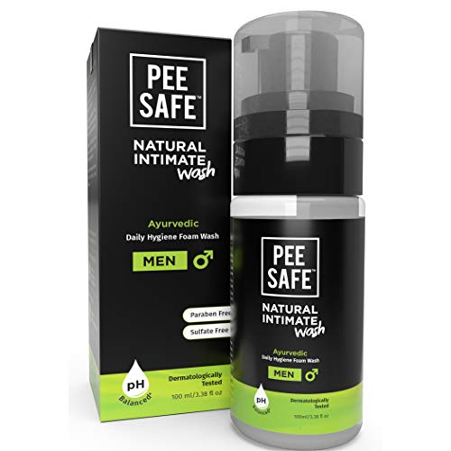PEESAFE Natural Intimate Wash for Men with Ayurveda Extracts – 100 ml