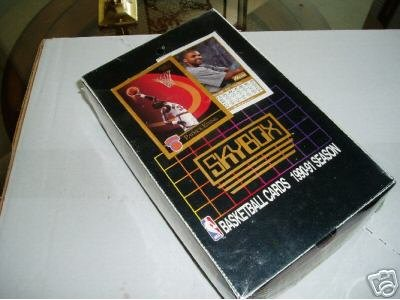 1990-91 SkyBox NBA Basketball, Series 1, unopened box ()