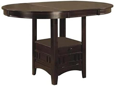 Best dining room table: Lavon Counter Height Table Espresso