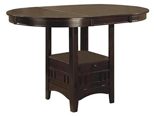 Table Gathering Height Collection - Lavon Counter Height Table Espresso