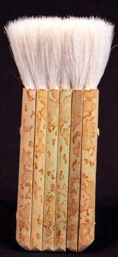Creative Hobbies 1 7/8″ Hake Blender Brush for Watercolor, Wash, Ceramic & Pottery Painting