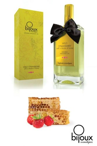 Bijoux Cosmetiques Massage Oil Kissable – Dark Chocolate
