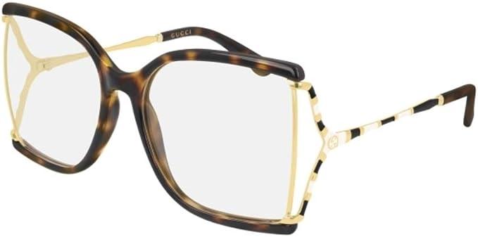 Gucci GG0592O-002 Estuches para anteojos, LA HABANA, 60.0 para Mujer: Amazon.es: Ropa y accesorios