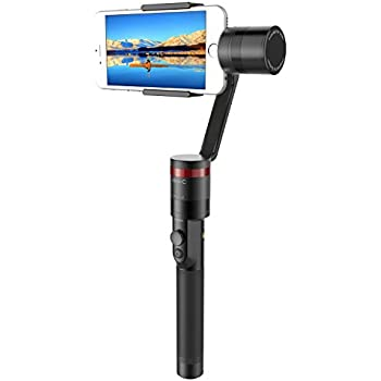 """Elecwave 3-Axis Handheld Gimbal Stabilizer EW-Mini C Multi-functional Camera Mount for Smartphone within 6"""" Screen, such as iPhone X / 8 / 7 / 7 Plus / 6S / 6 Plus and More"""