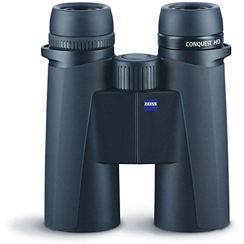 Zeiss 10x42 Conquest HD Binocular with LotuTec Protective Coating  (Black) - 2