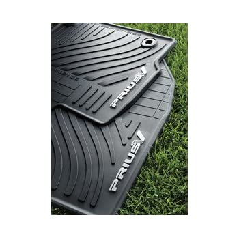 Amazon Com 2014 Prius V All Weather Floor Mats Front