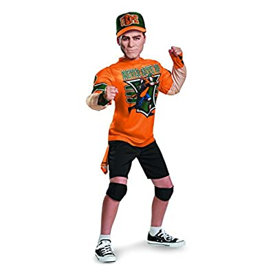 John Cena Classic Muscle WWE Costume, Large/10-12: Toys & Games