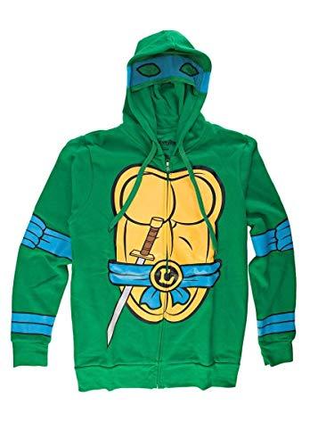 Teenage Mutant Ninja Turtles - I Am Leonardo Costume Zip Hoodie - X-Large