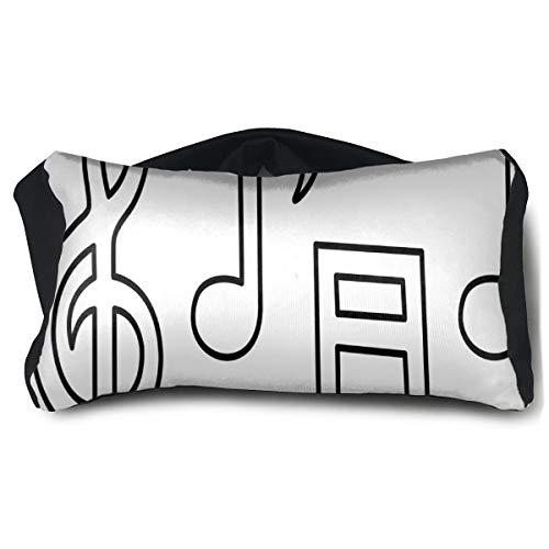 Eye Pillow Clip Art Music Notes Fantastic Eye Bag Patch Mens Portable Blindfold Sleeping Protection