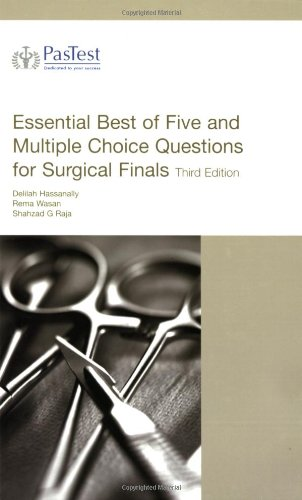 Download Essential Best of Five and Multiple Choice Questions for Surgical Finals ebook