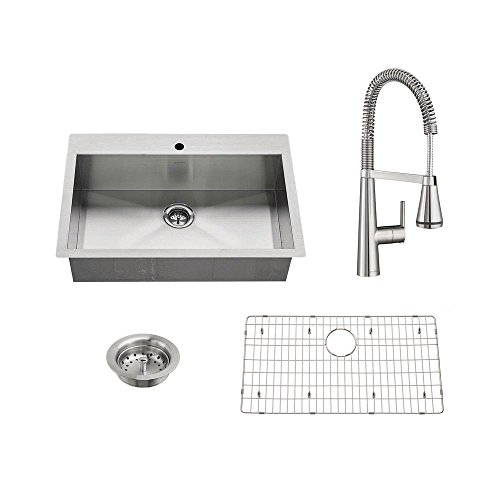 American Standard Edgewater All-in-One Undermount Stainless