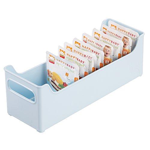 mDesign Nursery Storage Organizer Pouches
