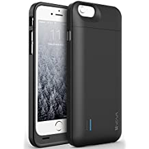Vena Battery Case for Apple iPhone 6 / 6s 4.7in - ZeusCase [MFI CERTIFIED] 3000mAH | 5V/1A Rechargeable Extended Battery Portable Cover - LED Power Indicator | Slim Fit | High Capacity Backup Battery - 1 Year Replacement Warranty