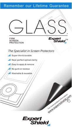 GLASS by Expert Shield - THE ultra-durable, ultra clear screen protector for your: Lumix ZS100 / ZS200 - GLASS