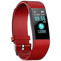 Fitness Tracker, reloj de seguimiento de actividad con monitor de frecuencia cardíaca, IP67 a prueba de agua con contador de pasos, contador de calorías, reloj de podómetro para niños y mujeres S