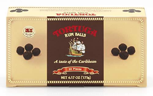 Chocolate Rum - TORTUGA Gourmet Rum Balls - The Perfect Premium Gourmet Gift
