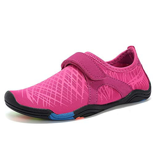 (Boys & Girls Water Shoes Lightweight Comfort Sole Easy Walking Athletic Slip on Aqua Sock(Toddler/Little Kid/Big Kid))
