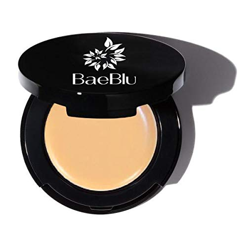 BaeBlu Organic Concealer, FULL Coverage Cover Up, 100% Natural, Made in USA, Obscure
