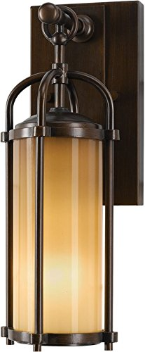 Feiss OL7600HTBZ-LED Dakota LED Outdoor Patio Wall Lantern, 1-Light, 14watts, Bronze (5