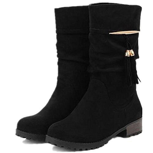 Motorcycle Riding Boots With Thick Soles - 5